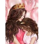 M AZ-1691 Diamond painting kit - My princess