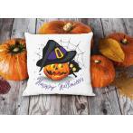 ZU 10475 Cross stitch kit - Cushion - Happy Halloween