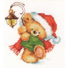 ALI 0-122 Cross stitch kit - Towards the miracle