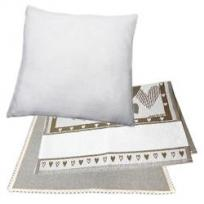 cushion covers, tablecloths, towels