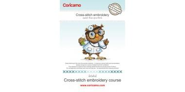 Free cross stitch embroidery course