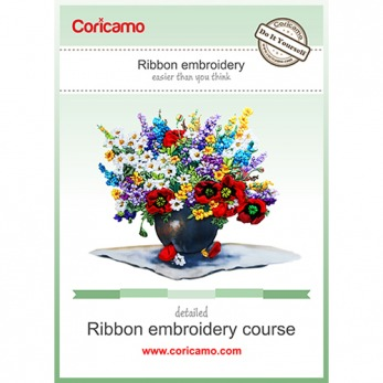 Free ribbon embroidery course